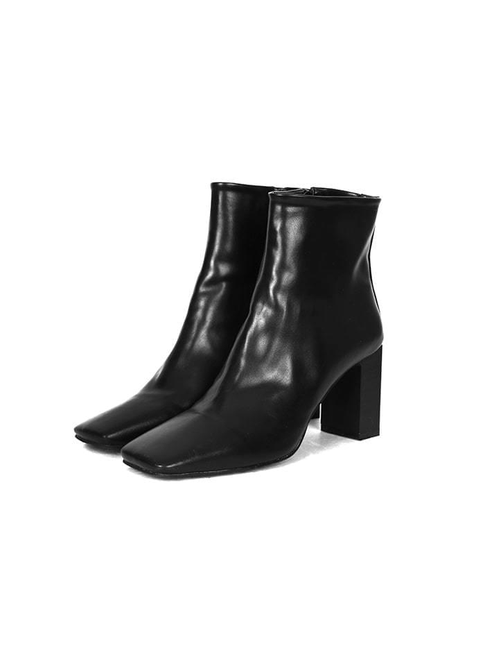modern ankle boots (2 color)
