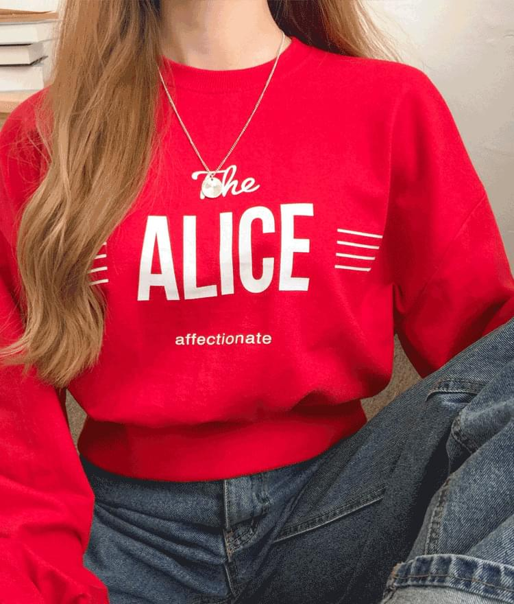 Alice Van Crop Man to Man