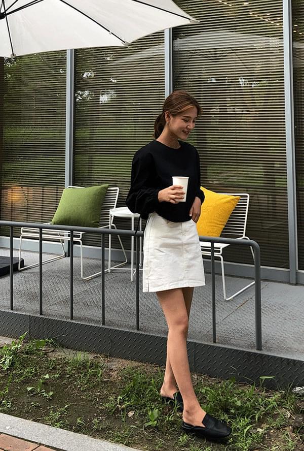 A-line side skirt