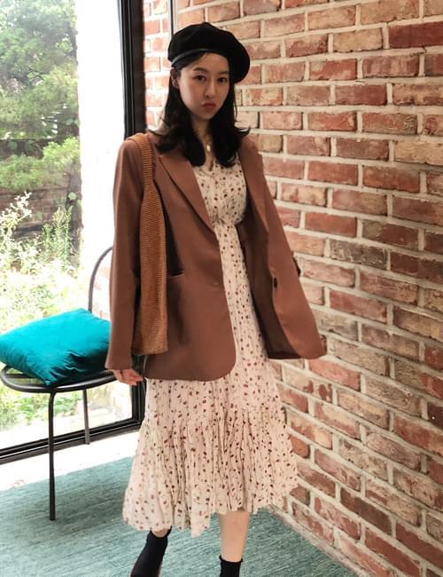 Rio Vintage Chiffon Long Dress