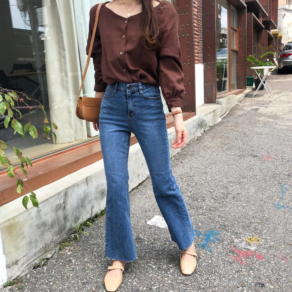 Lily Band Blouse