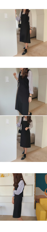 Bell-cut midi dress