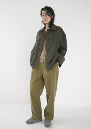 casual boxy-fit jacket