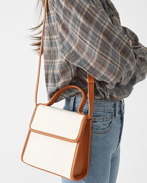 jane square shoulder bag