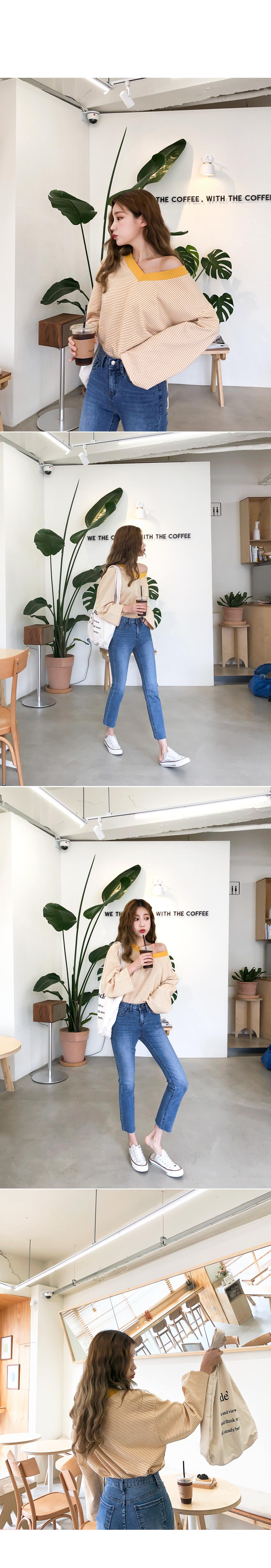Small-size denim pants