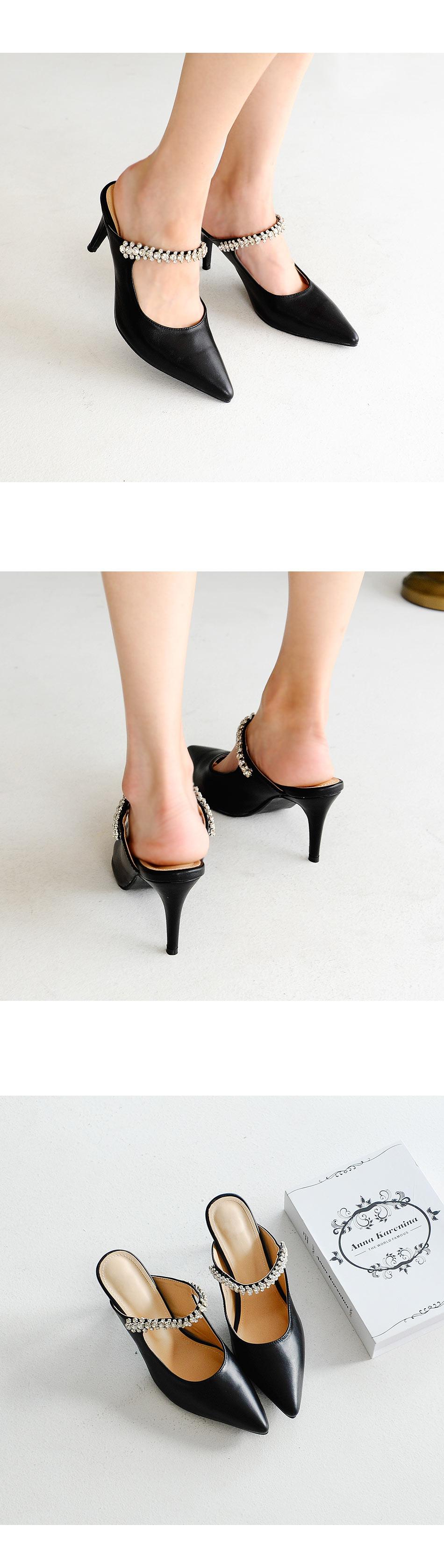 Nibella Mule Slippers 3,8cm