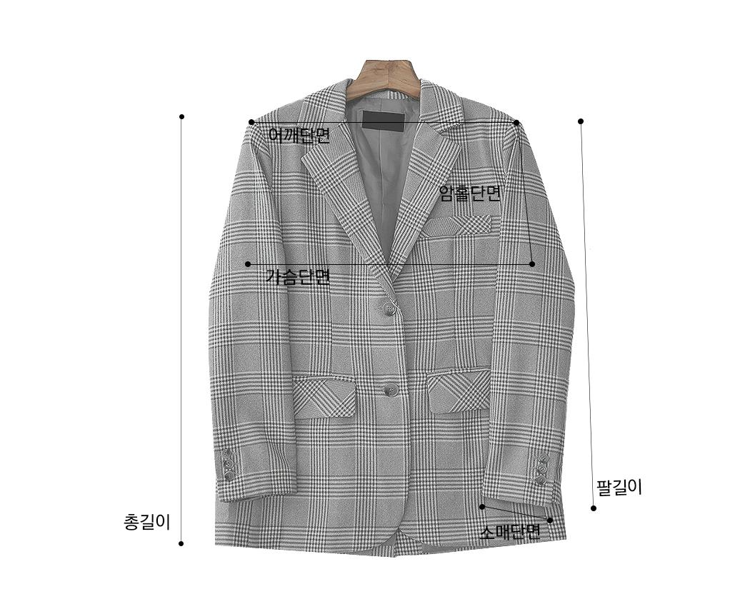 Light check jacket