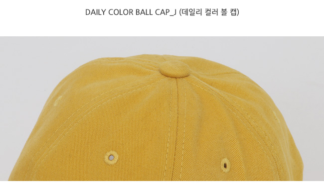 Daily color ball cap_J