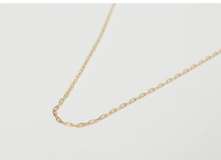 Slim chain nacklace_C