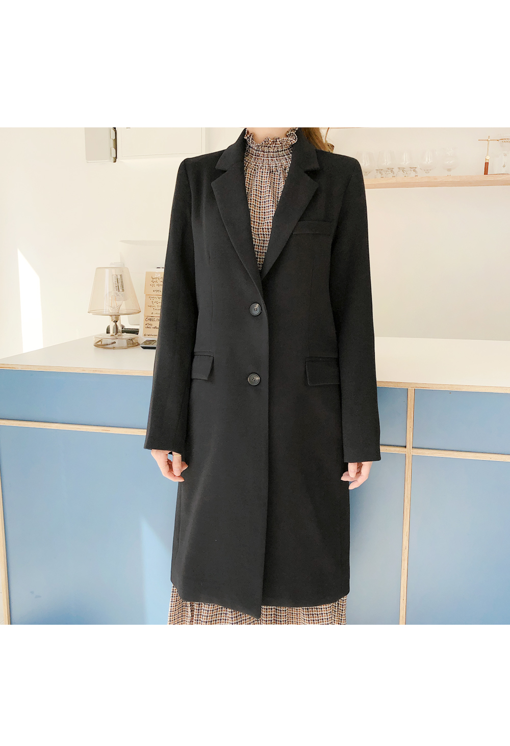 Her life pit long coat