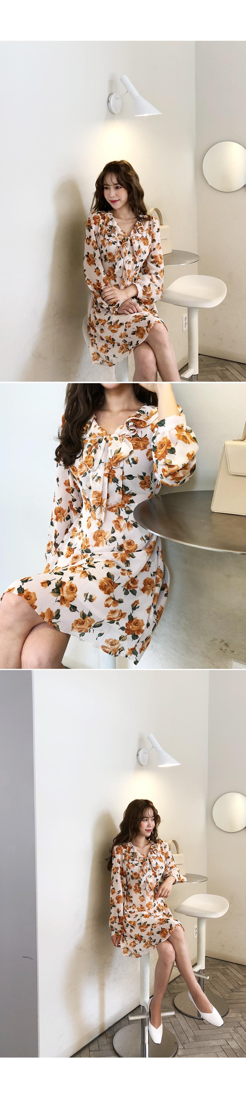 Bright secret dress