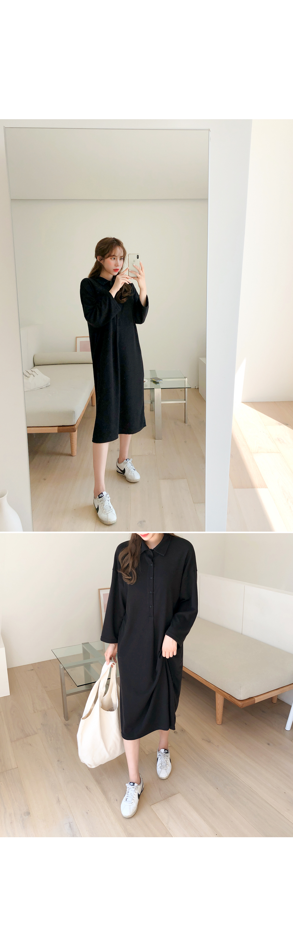 Comfortable loose fit dress
