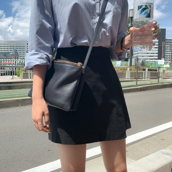 Wella linen banding skirt