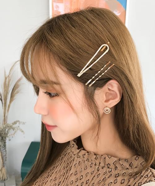 Variety of Fine Hairpins SET