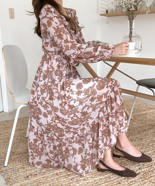 Sharala Chiffon Dress