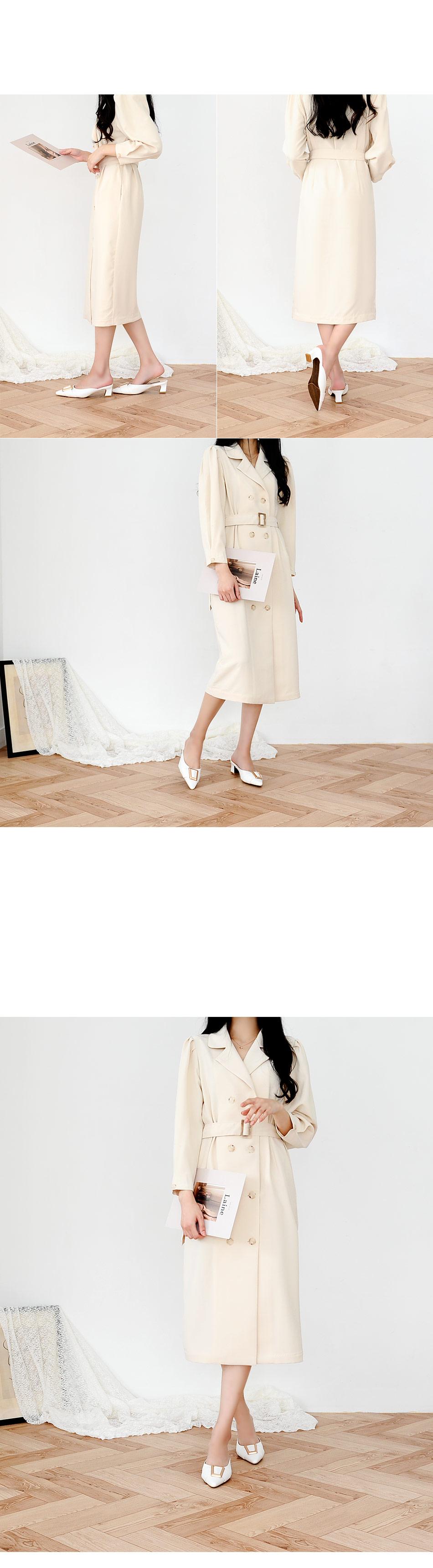 Ricoen Trench Dress