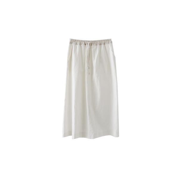 color combine banding skirt