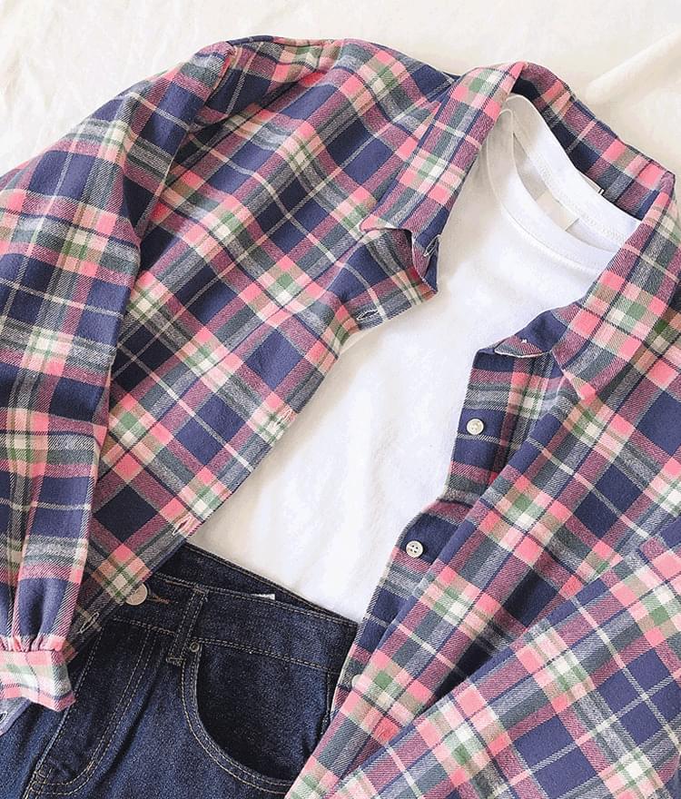 Alida check shirt
