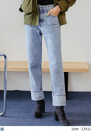 UNION STRAIGHT LONG DENIM PANTS