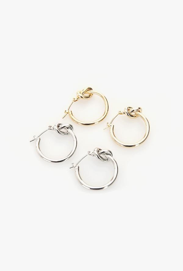 Wave twist earrings