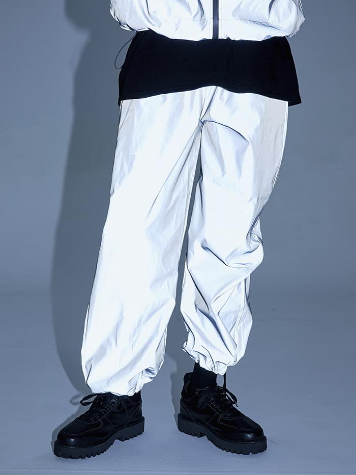 reflective jogger pants - men