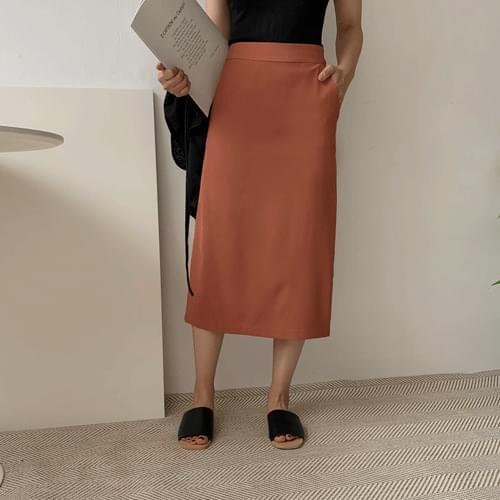 Castle Pocket Long Skirt