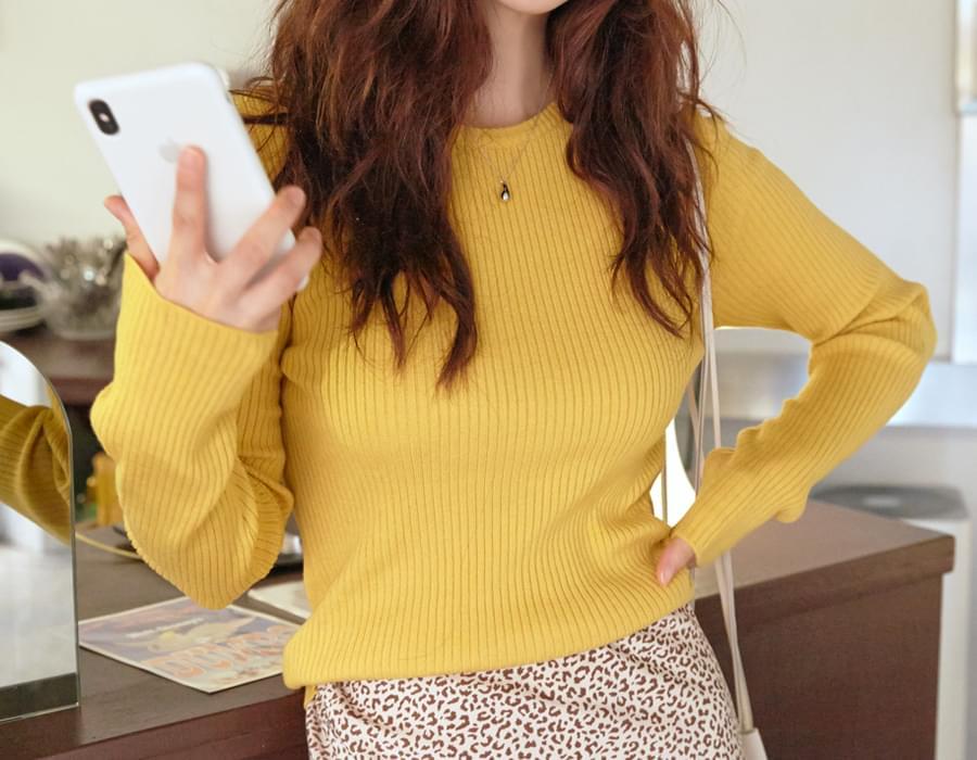 Daisy slim golgi knit_C