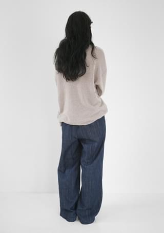 wide wearable denim pants