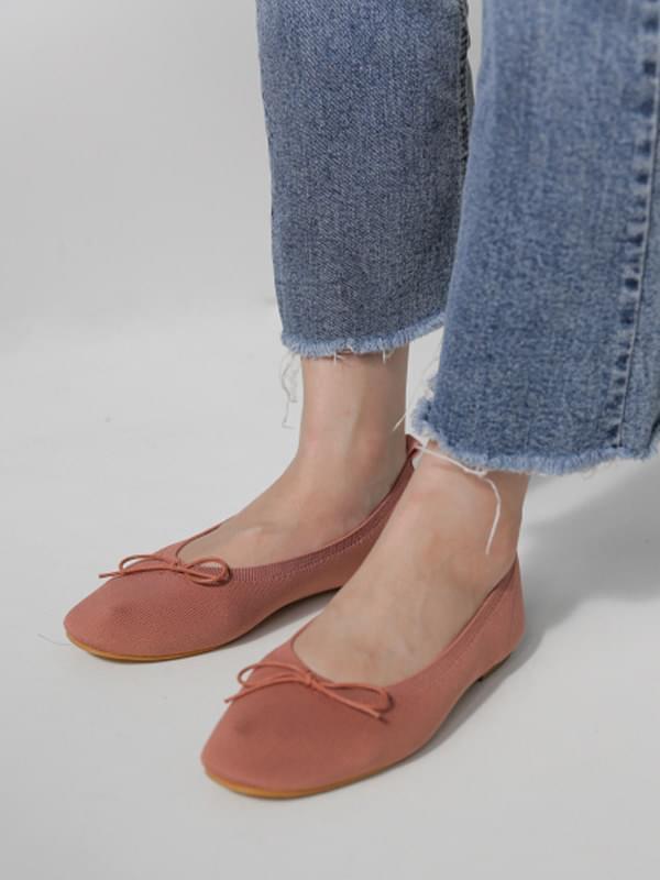 Knit Flat Shoes