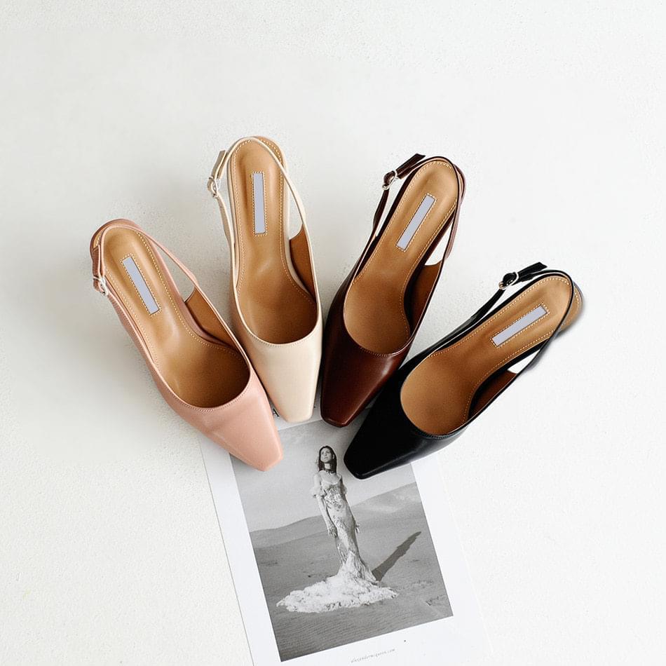 Reponse Slingback Middle Heel 5cm