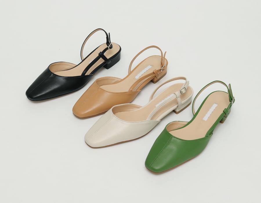 Dazzle sling-back shoes_C