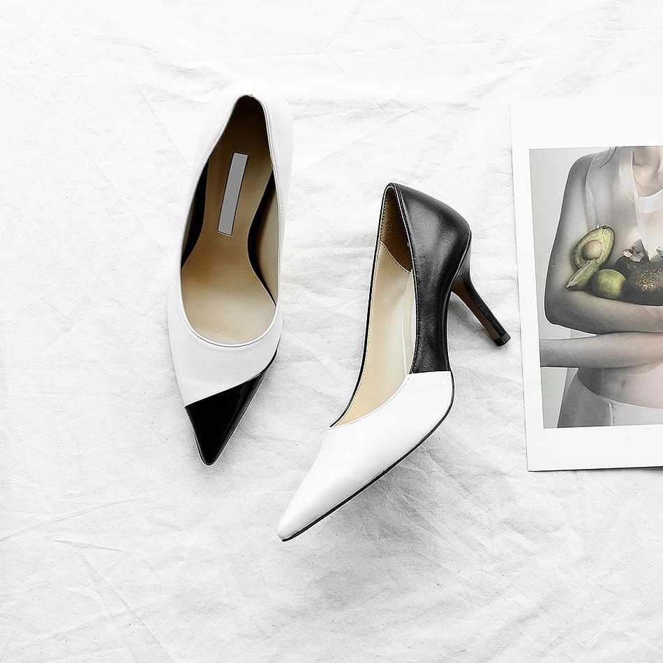 Richea Leather Handmade Shoes 8cm
