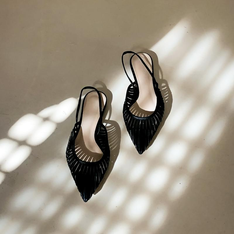 Miracle shoes black 230