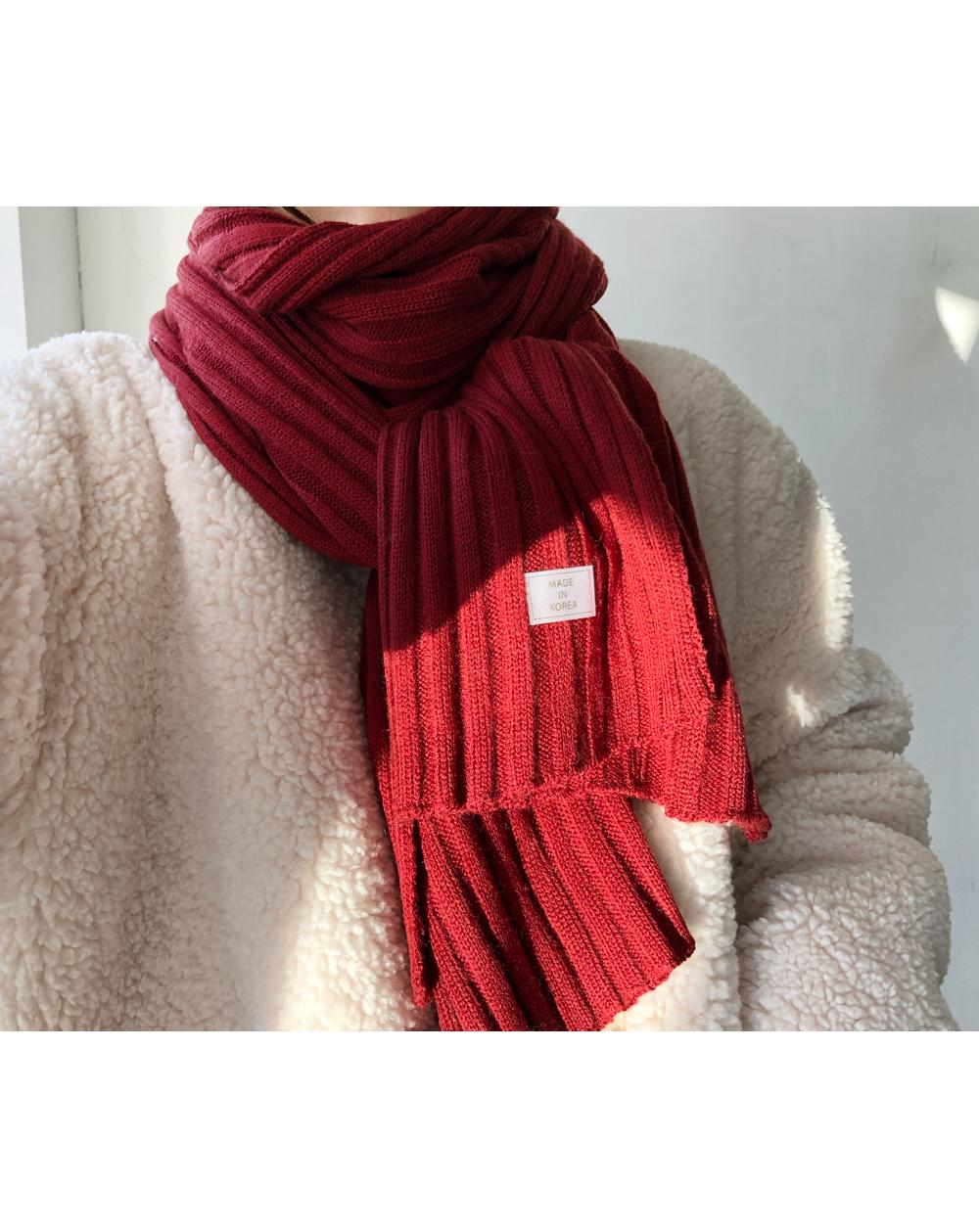 Knit Corrugated Muffler