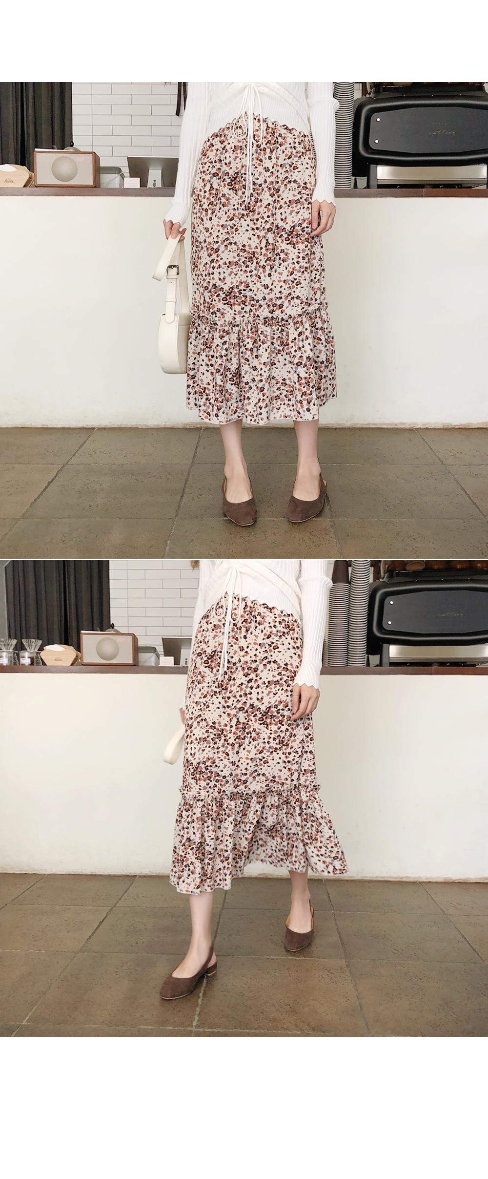 Hem shearing skirt