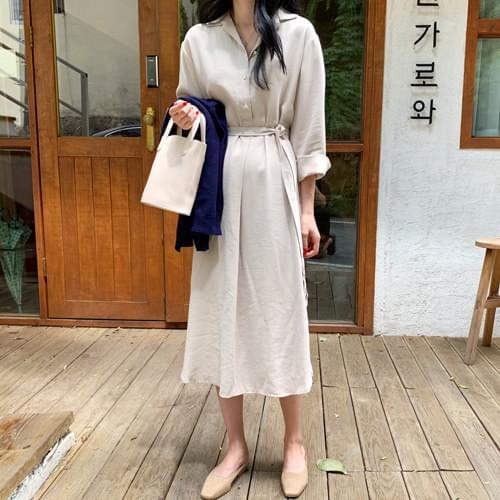 Blin half-open long dress