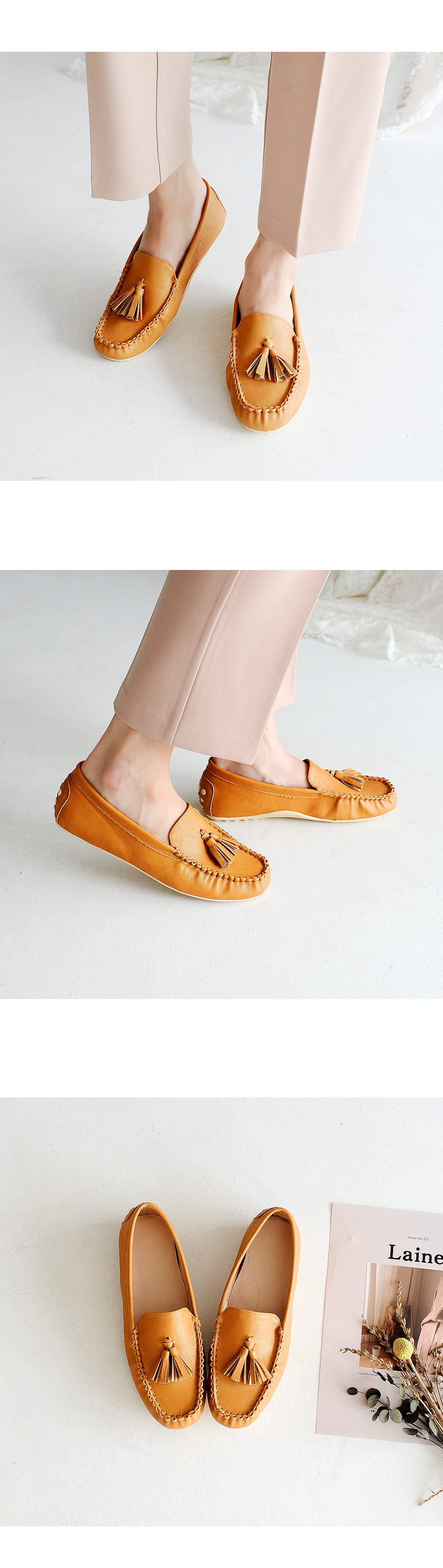 Taper Height Loafers 3cm
