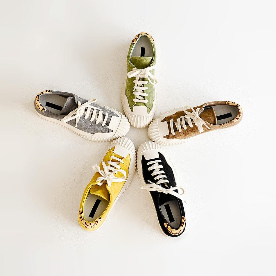 Lovinta Leather Tall Sneaker 4cm