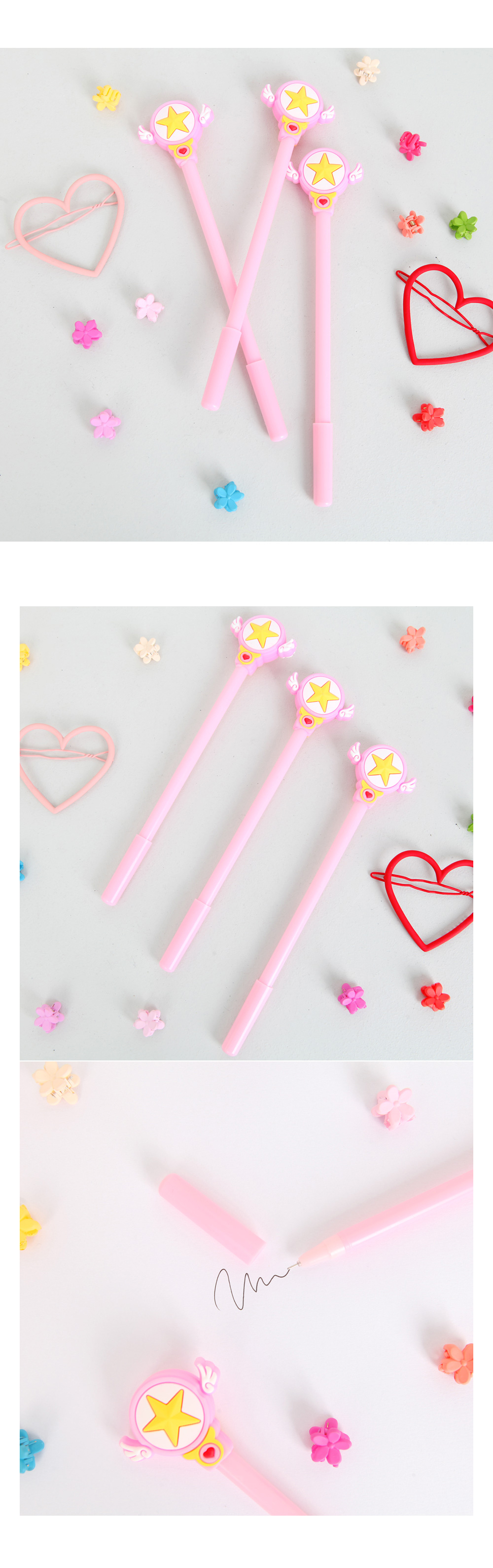 Shiny Star Ballpoint Pen