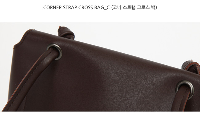 Corner strap cross bag_C