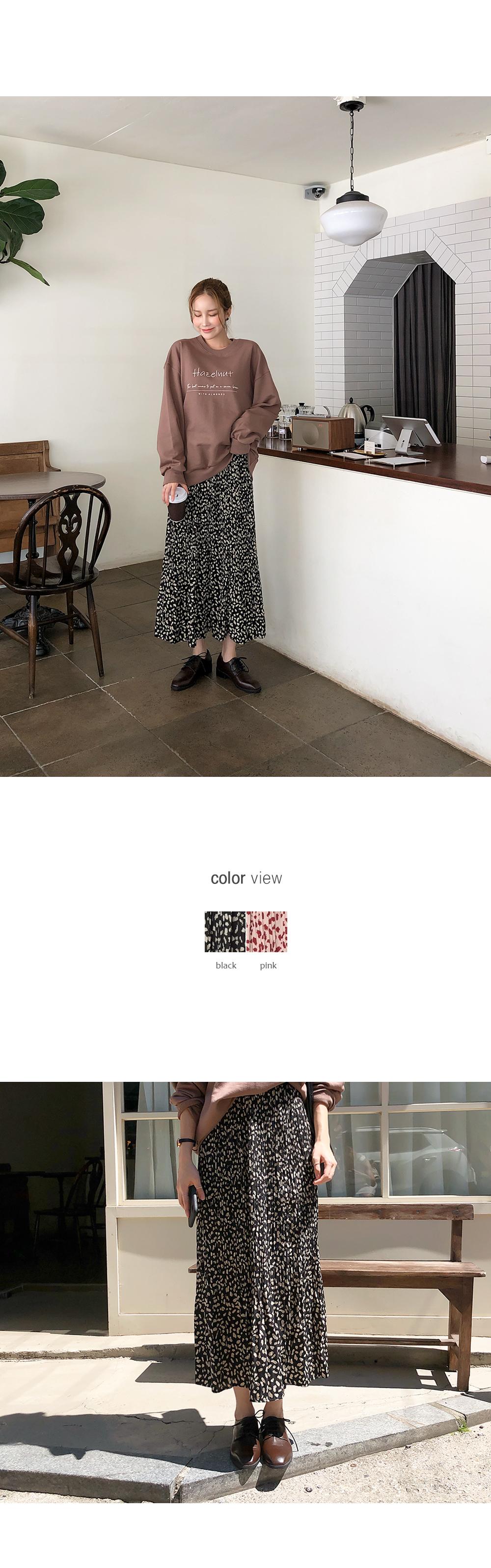 Pleated Emotional Skirt