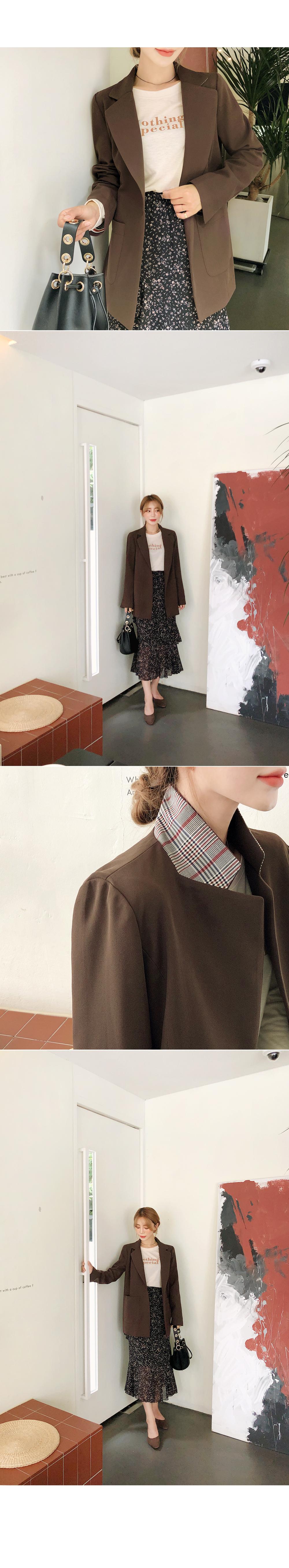 Diagonal canvas chiffon skirt