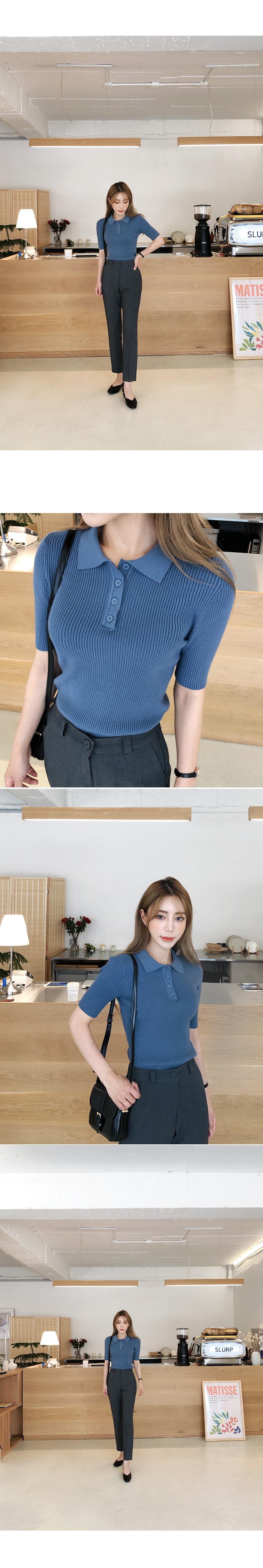 Kara pretty corrugated knit