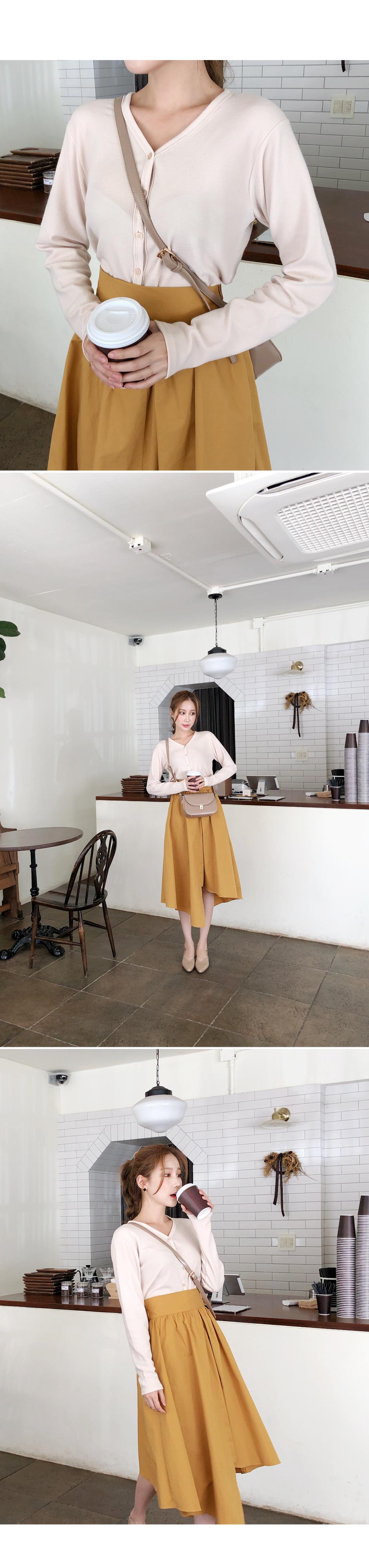 Elegant flaredline skirt