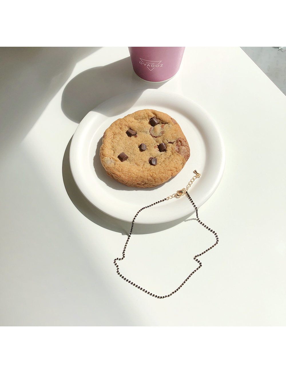 Mini Cubic Choker Necklace