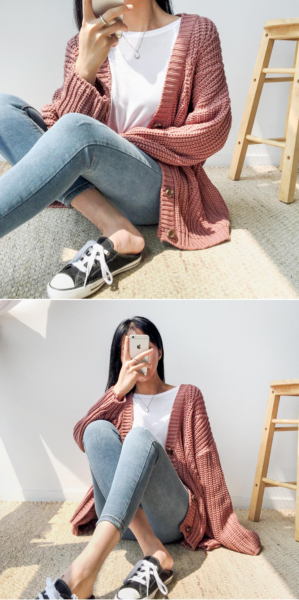 Two mini cardigan