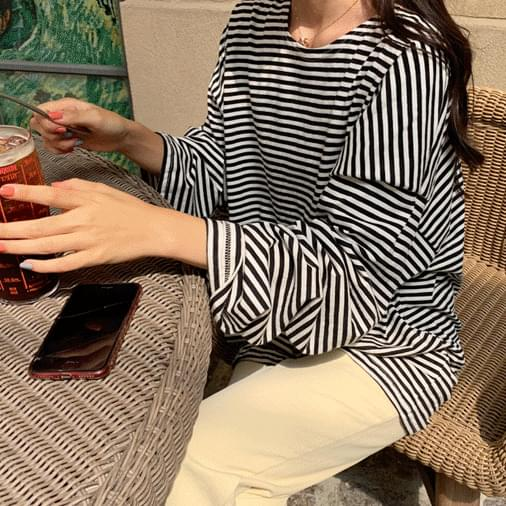 Renan striped overfit T-shirt