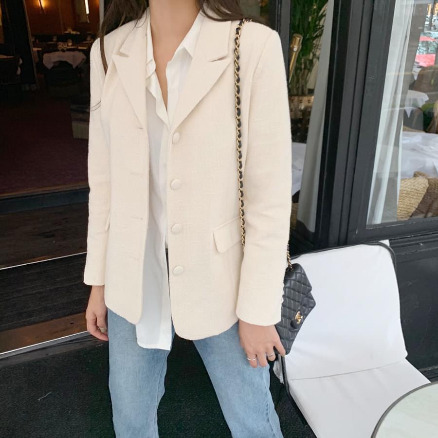 Bling tweed jacket