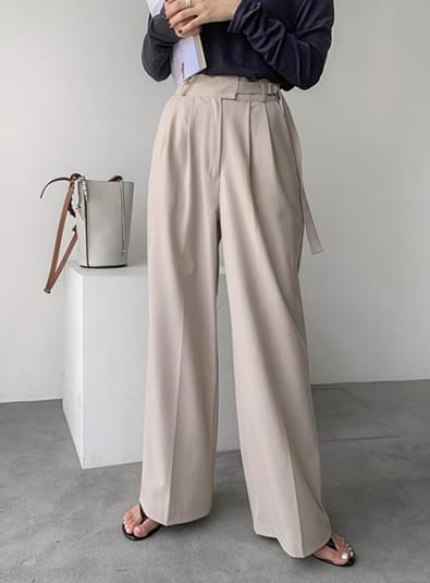 Ring wide pants