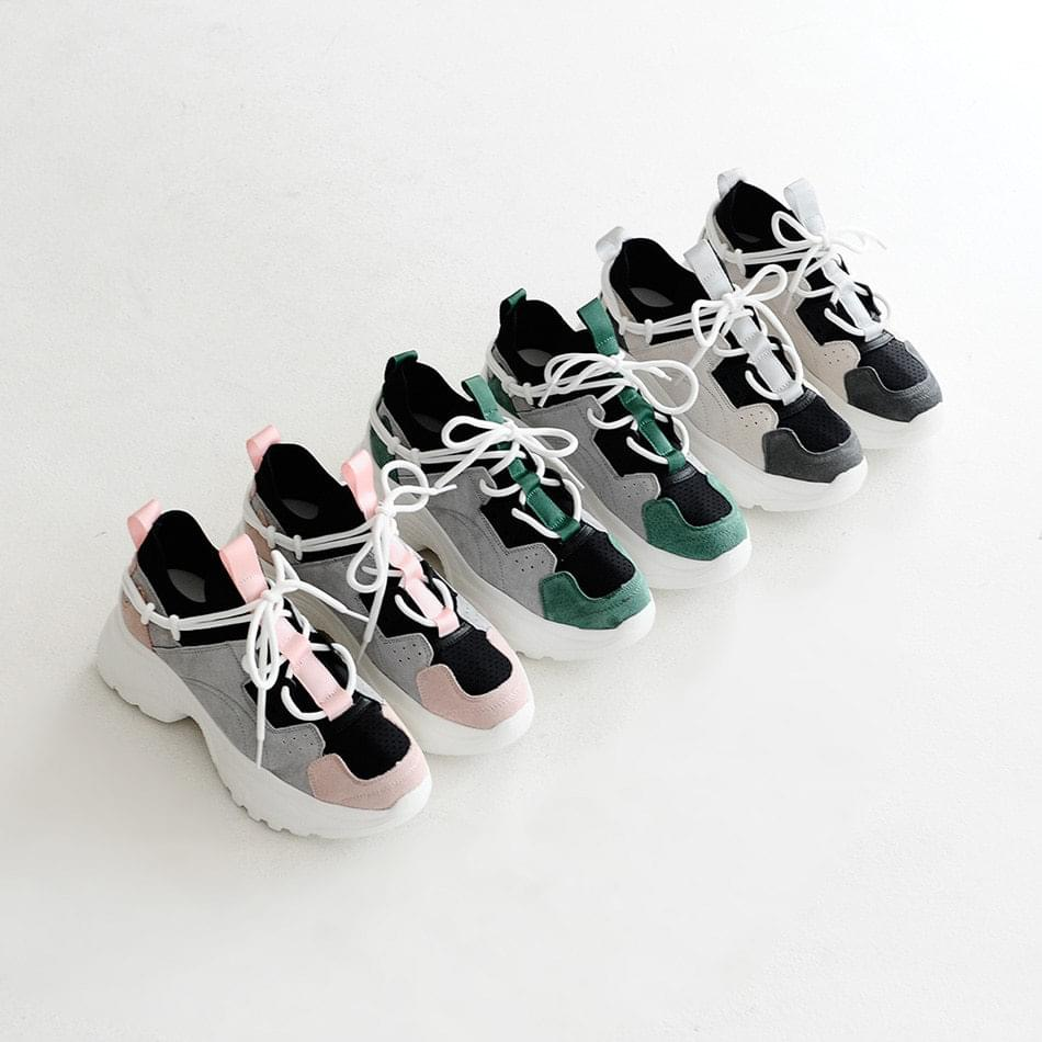 Tapins sneakers 6cm tall